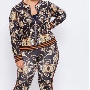 Other - 2 Piece Track Suit Plus Size❤️